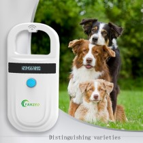 Yanzeo AR180 134.2kHz FDX-B Pet Microchip Scanner EMID Animal RFID Tag Handheld Reader dog reader Low Frequency Handheld RFID