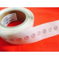 Small Round 868Mhz 925Mhz UHF Sticker tag ST0143 FOR CD management,plastic products management