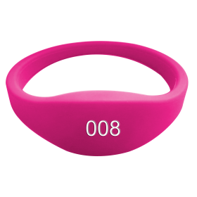 LF/HF 125khz/13.56mhz wrist band Color Waterproof Silicone Wristband Bracelet Tag SW615 RFID tags are widely used in extremely humid environments swimming pool, cooling libraries, water patrol, field operations