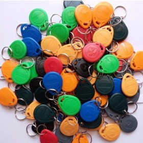 ID key fobs 125kHZ RFID Tag Key Ring Card Proximity Token  ST5015 FOR Access Control