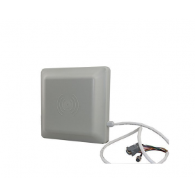 2.4G active long-range RFID reader personnel positioning, parking access control system