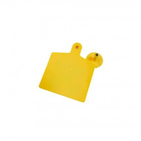 100PCS UHF Ear Tags 860-925Mhz ISO18000-6C 8Meter read range SE3056 for livestock management free shipping