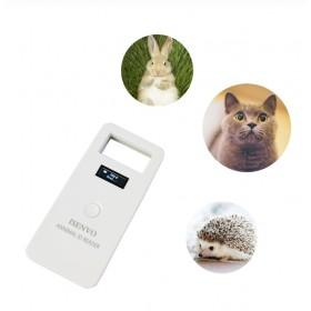 New Rfid FDX-B animal tag Microchip reader ISO Chip Portable OLED Pet Dog Cat Scanner 134.2khz For Rfid Glass Tag/Rabbit Ear Tag