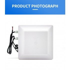 R16 8DBI 8M Long range Integrated UHF RFID Reader Writer 865~928MHz RS485 RS232 USB Waterproof Supported ISO18000-6B ISO18000-6C
