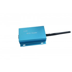 Small active 2.4g long-distance card reader Parking access control system personnel positioning